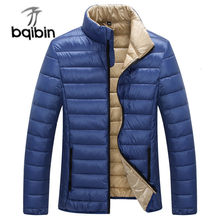 2019 Herfst Winter Mannen Licht Casual Donsjack Ultralight Witte Eendendons Winter Keep Warm Down Jassen Jas Overjassen(China)