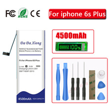 Da Da Xiong 4500mAh Battery For  iPhone 6S Plus for iphone 6SPlus battery +Free Tools