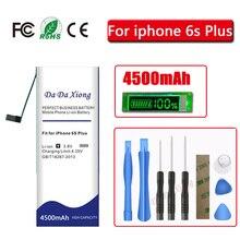 דה דה Xiong 4500mAh סוללה עבור iPhone 6S בתוספת עבור iphone 6SPlus סוללה + כלים חינם