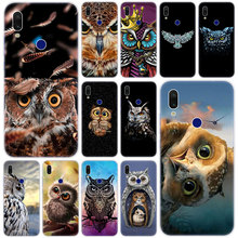 Hot Cute animal owl Soft Silicone Case for Xiaomi
