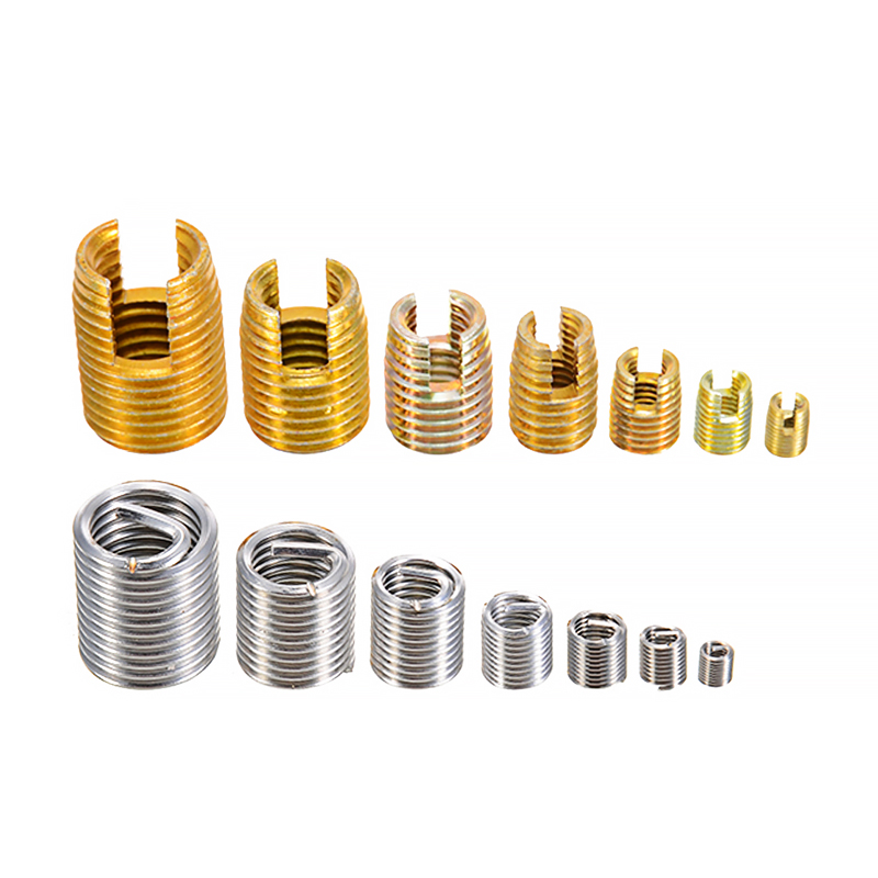 116Pcs/Set Steel Self Tapping Thread Repair Insert Combination Kit Stainless Steel for Hardware Repair Tools