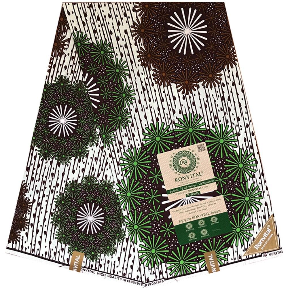 African Wax Print Fabric 24x24 Material 6 Yards Of African Fabric Nigeria Soft High Quality Ankara Wax Fabric For Women Dress
