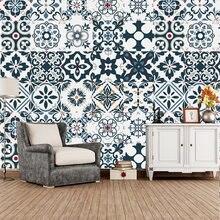 Викторианская марокканская плитка настенные наклейки ванная
