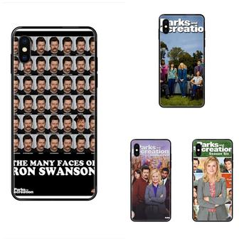 TPU Shell Tv Show Parks And Recreation Poster For Huawei Honor 20 20I 20S 10 10I 6A 7A 7X 8C 8X 9 9A 9I 9X Lite Pro image