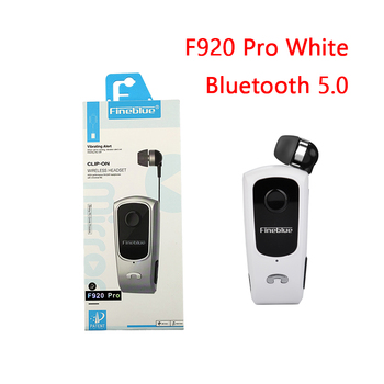 Fineblue F920 Pro Mini Wireless Retractable Portable Bluetooth Headset Calls Remind Vibration Wear Clip Sports Running Earphone 15