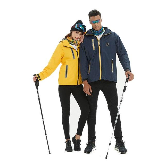 2019 Winter Heated Jacket Men Women Outdoor Sport Polar Coats Fleece Jacket Ski ingTrekking Camping Hiking Clothing 5