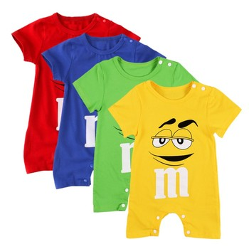 Baby Rompers Jumpsuit For Baby Boy Girls Clothes Summer Newborn baby Clothing Short Sleeve Jumpsuits Cotton Baby Cotton Rompers 2016 baby boys rompers summer baby boy clothing sets roupas bebes short sleeve infant baby boy jumpsuits newborn baby clothes