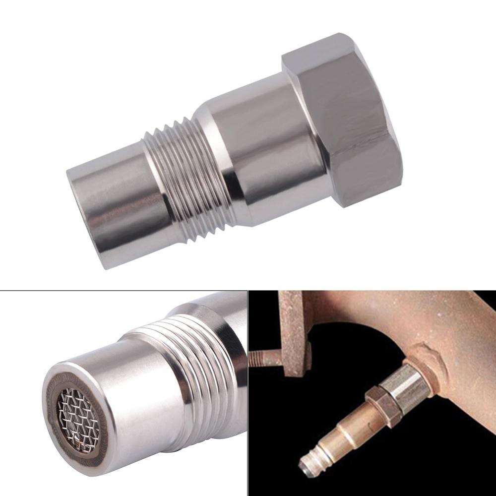 Top Qualität Durable Auto CEL Fix Check Engine Licht Eliminator Adapter-Sauerstoff O2 Sensor M18X1.5 Großhandel Schnelle lieferung CSV