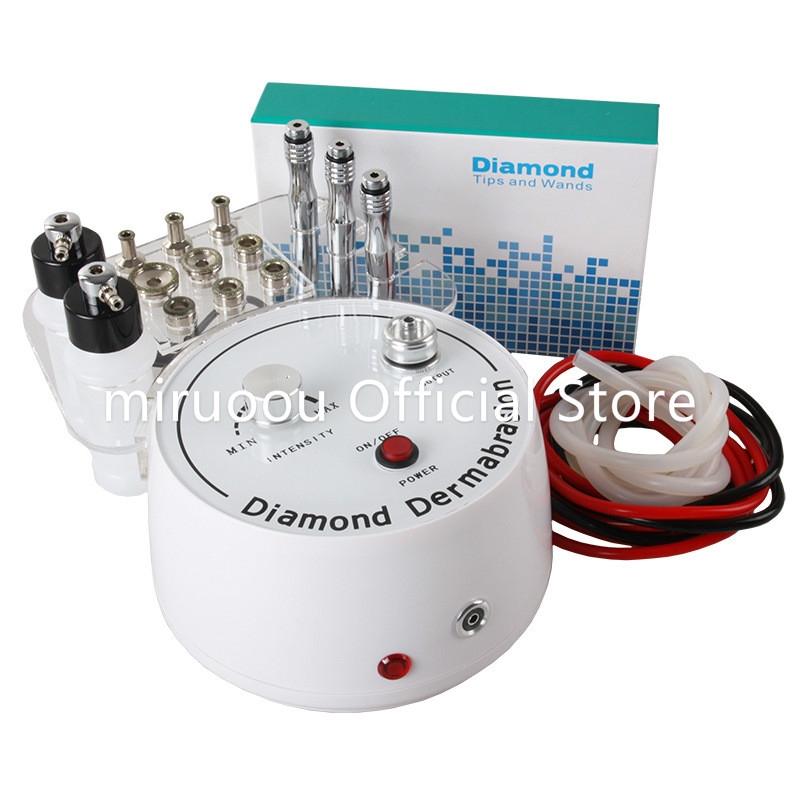 Multifunction Diamond Dermabrasion Machine 3 In 1 Skin Peeling For Head Spot Removal