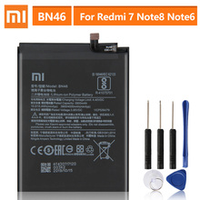 Original Replacement Battery BN46 For Xiaomi Redmi Note8 Note 8T 8 Redmi 7 Redmi7 Note 6 Note6 Genuine Phone Battery 4000mAh