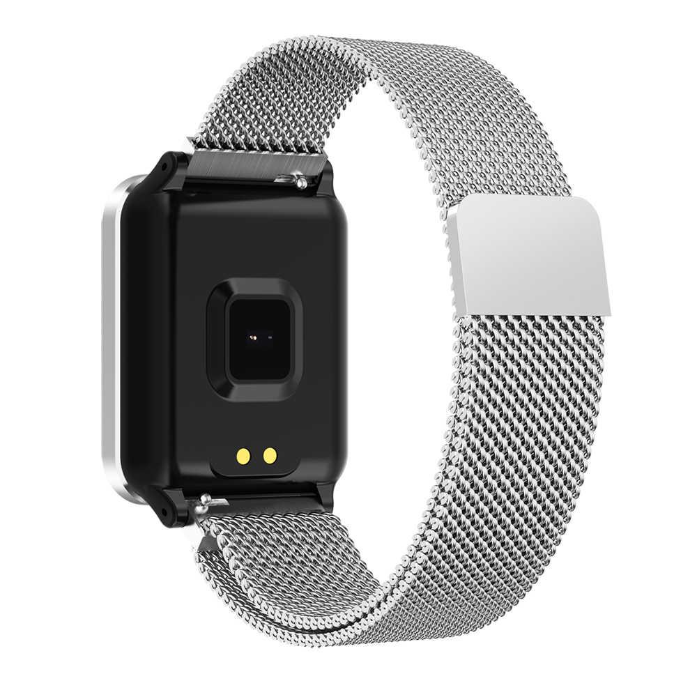 2019 P1 smart watch männer frauen Herz Rate Blutdruck Überwachung Call Nachricht nach gerät GPS Fitness Tracker