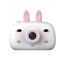 Children Mini Camera 2.4Inch Screen Display Front Rear Dual Cameras Kids Camera