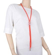 YD & YDBZ-collares con colgante de corazón de cristal para mujer, cadena de cuerda de goma de lujo, dijes, collar de fiesta actual, regalo para amantes del Festival