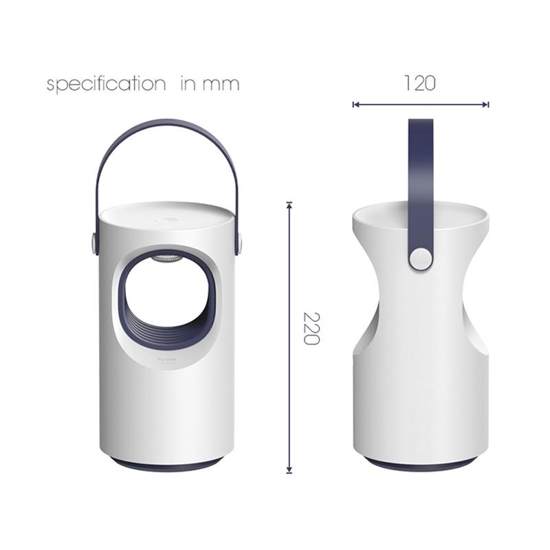 Image 5 - Xiaomi Sanlife automatyczny fotokatalizator urządzenie przeciw komarom niski wyciszenie niebieski środek odstraszający komary komary lampa przeciwko komarom Smart HomeInteligentny pilot zdalnego sterowaniaElektronika użytkowa -