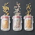 Küche Home Storage Frische Selbst-abdichtung Gefrierschrank Tasche Reusable Silikon Lebensmittel Gefrierschrank Lagerung Vielseitig Behälter Snack Tasche Neue