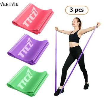 3Pcs/Set Home Gym Fitness Resistance Bands For Yoga Stretch Pull Up Rubber Bands Exercise Training Workout Equipment gym fitness resistance bands for yoga stretch pull up assist bands crossfit exercise training workout equipment rubber bands