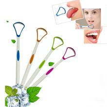 Brush Hand-Scraper Tongue-Cleaner Cleaning Removed Hygiene-Tools Silica-Handle Portable
