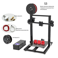Createbot S 3 Newest 2020 precision 3D printer DIY kite/ Large build size/ full function/ Low failure/