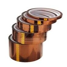 3-100мм* 33 м* 0,055 мм золото BGA монтажная плата Тепловая лента, теплоизоляционная лента, высокотемпературная устойчивая лента