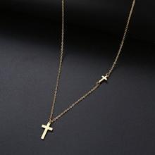 DOTIFI For Women Hot Sale Shiny Cross 8 Character Pendant Ne