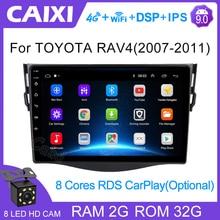CAIXI 9 Inch Đa Phương Tiện 2din Android 9.0 2GB RAM Dành Cho Xe Toyota RAV4 Rav 4 2007 2008 2009 2010 2011 Phát Thanh Xe Hơi 2 Din Dvd