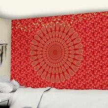 Indian Mandala Tapestry Mattress Shawl Blanket Hanging-Decoration Beach-Mat Wall Yoga