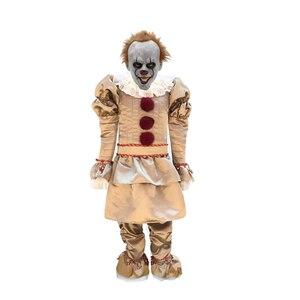 Image 2 - Kinderen Joker Pennywise Cosplay Kostuum Masker Stephen King Het Hoofdstuk Twee 2 Horror Clown Halloween Party Aanbod
