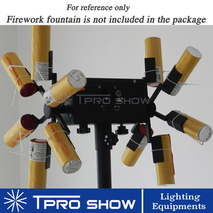 Image 4 - Wedding Pyrotechnics Cold Fire Fountain Rotating Stage Lighting Effect Ignition System Machine Remote Control For Stage Show