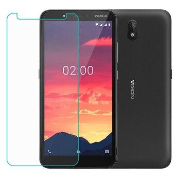 Перейти на Алиэкспресс и купить Для Nokia C2 5,7 дюймЗакаленное стекло Защитная пленка для Nokia C2 2020
