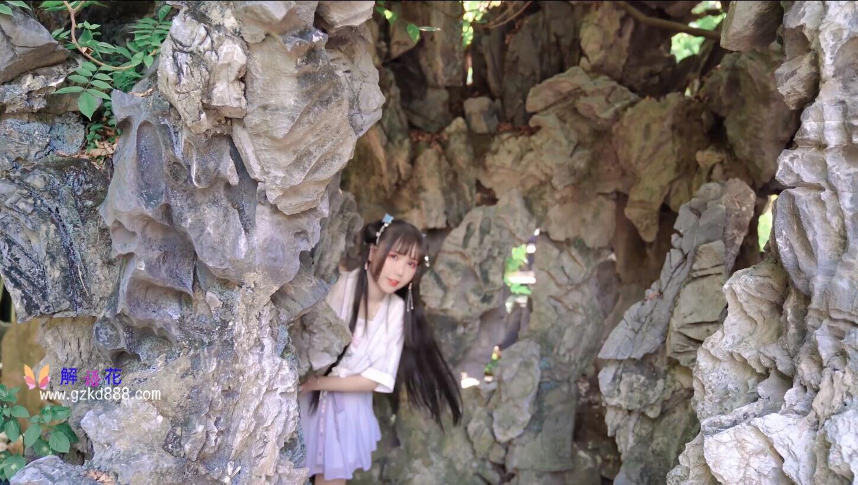 美少女up主@いとう哀 仙女裙 自唱自跳古风舞《花开一片》_图片 No.6