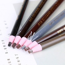 Waterproof pull cord roll paper soft eyebrow pencil tear make-up wholesale
