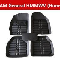 Car Floor Mat Car Accessories For Am General Hmmwv (Humvee) Leather Front&Rear Waterproof|Floor Mats| |  -
