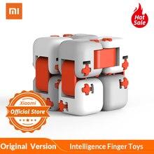Оригинальные Xiaomi tu пальчиковые кубики mi строительный блок Spinner Intelligent Finger игрушки портативные умные игрушки подарок для детей