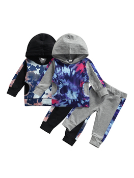 Kids Hooded Track Suit