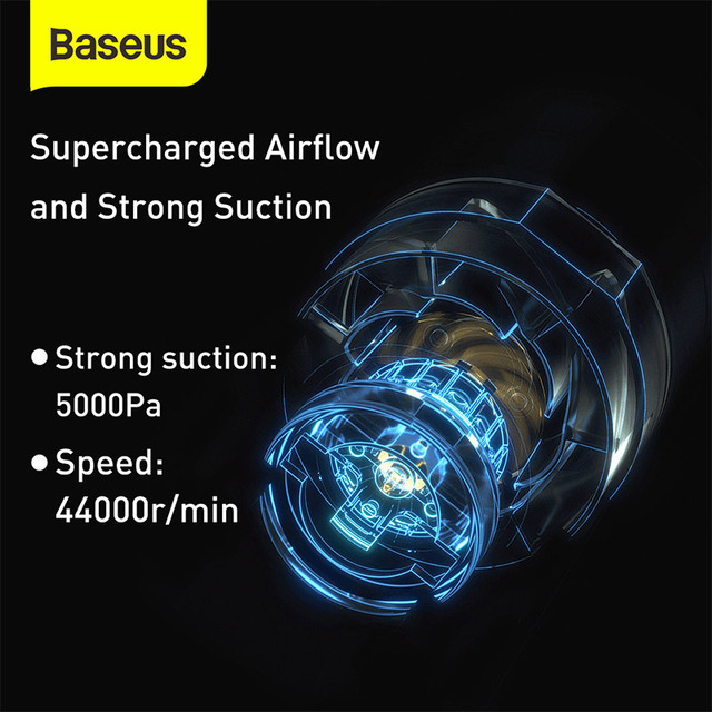 Baseus Mini Handstaubsauger 5000Pa 3