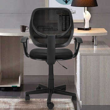 Home Office Room Use Nylon Five-star Feet Mesh Chair Gaming Chair Office Desk Chairs Black Need to Assemble - DISCOUNT ITEM  20 OFF All Category