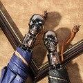 Yu bao esqueleto fresco totalmente automático oito osso shang wu san três vezes fibra de vidro chuva ou brilhar com guarda-chuva adv customizável