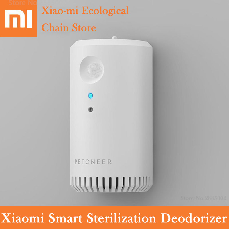 Xiaomi Smart Odor Eliminator Ozone Infrared Sensing Sterilization USB Rechargeable For Pet Cat Dog Clean Air Device Smart Home