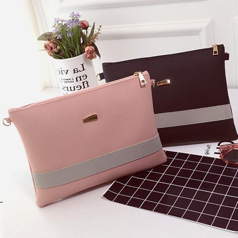 Envelope Crossbody Bags Womens Clutch Handbag PU Leather Women Messenger  Sling Small New Shoulder Female Bolsos