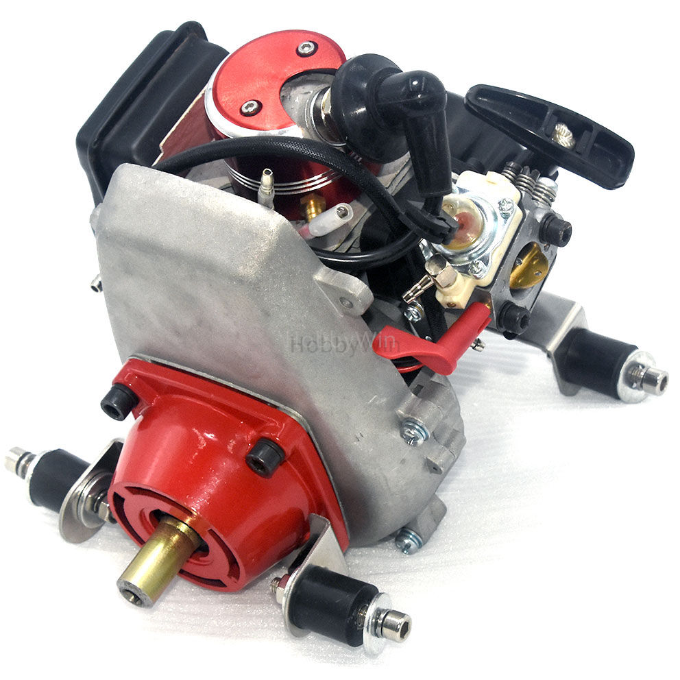 FLASH SALE] QJ 29CC Rear Exhaust Marine Engine For RC Racing