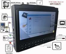KPT 716TS DVB S2 DVB T2 satllite Finder meter HD Satellite TV Receiver MPEG 4 Modulator better satlink ws 6916 6906 6933