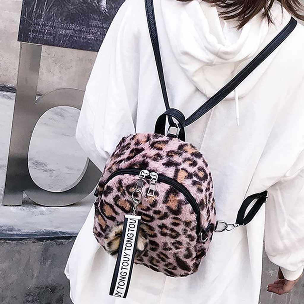 Vrouwen Luipaard Print Schoudertassen Mode Grote Capaciteit Tassen Draagbare Winkelen Packs Luipaard Print Doek Tas Opvouwbare Tas