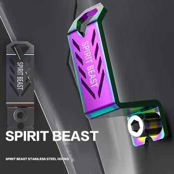 Spirit Beast kask motocyklowy kask bagażowy akcesoria do skuterów motocyklowych uniwersalne gadżety Offroad Atv pasek wieszak na zakupy tanie i dobre opinie TROFOM