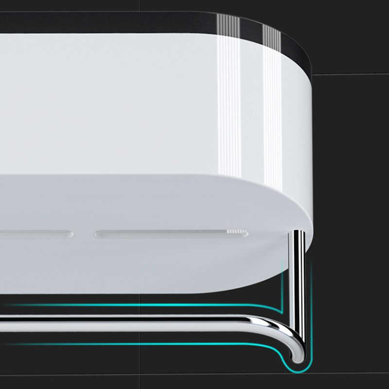 GESEW เก็บห้องน้ำติดผนังชั้นวางผ้าขนหนูสำหรับห้องครัว WC บ้านสวนอุปกรณ์ห้องน้ำ
