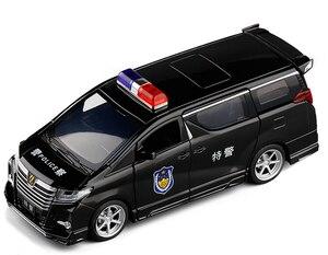 Image 5 - Hoge Simitation 1:32 Toyota Alphard Mpv Model Lichtmetalen Pull Back Auto Model 4 Open De Deur Met Geluid Licht Kids speelgoed Gratis Verzending