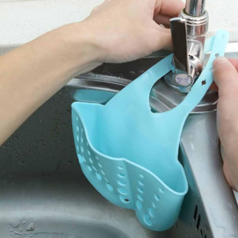 Disesuaikan Dapur Wastafel Drain Keranjang Penyimpanan Rak Kamar Mandi Rak Gantung Keranjang untuk Mencuci Kain Toilet