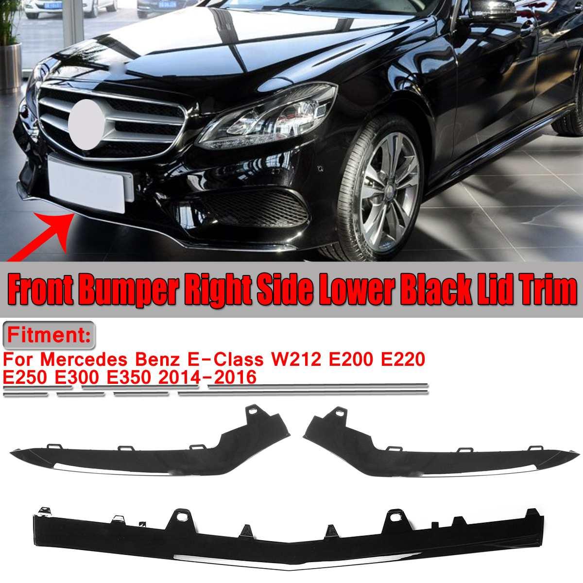 Front Bumper Left Side lower Chrome Trim Molding for Mercedes W207 E350