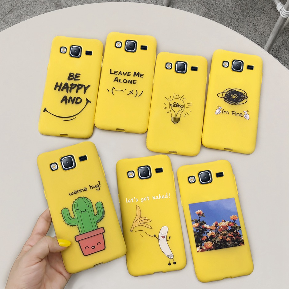 Cartoon Candy TPU Case For Samsung Galaxy J5 2015 5.0 Soft Silicone Back Cover For Samsung J5 J500 J500F J500H 2015 Covers image