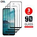 Протектор экрана для Nokia 3,4 2,4 2,2 3,2 4,2 6,2 закаленное стекло Премиум полное покрытие Защитная стеклянная пленка для Nokia 7,2