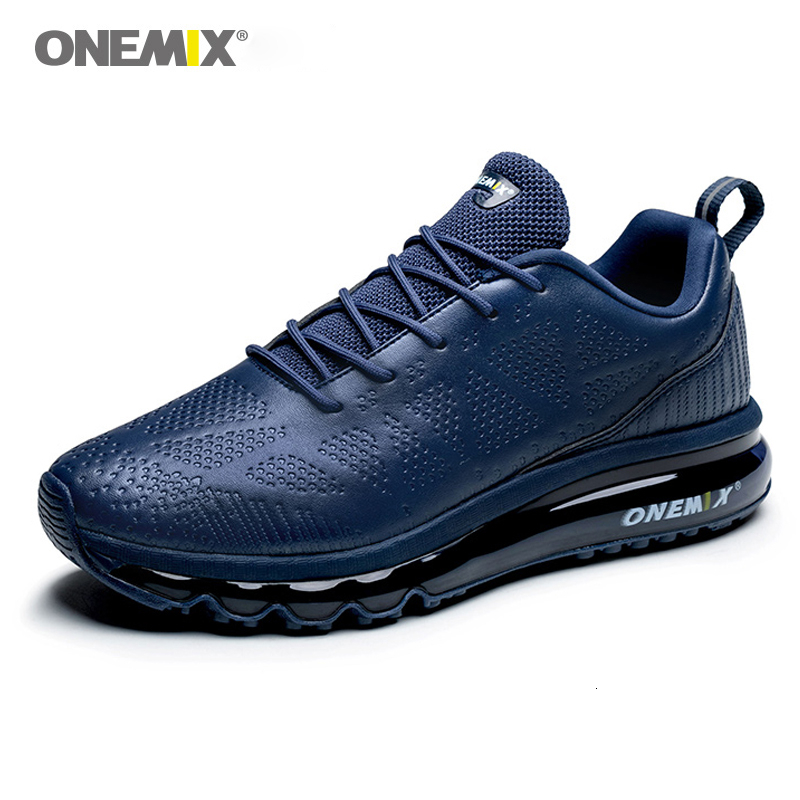 ONEMIX Running Shoes For Men Air Cushion Sneakers Breathable Mesh Walking Shoes Trail Trainers Best Road Jogging Sport Shoes